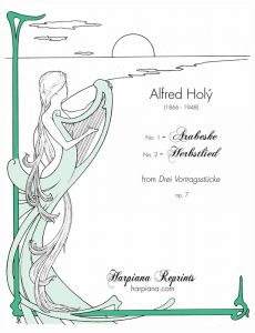 Holy Arabeske No. 1 and No. 2 Herbstlied_cover