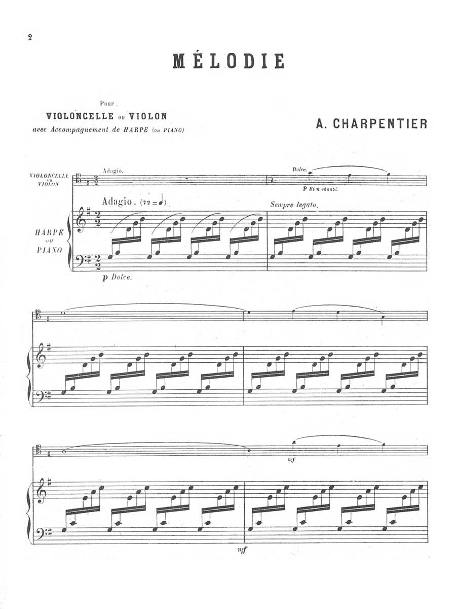 Charpentier Melodie