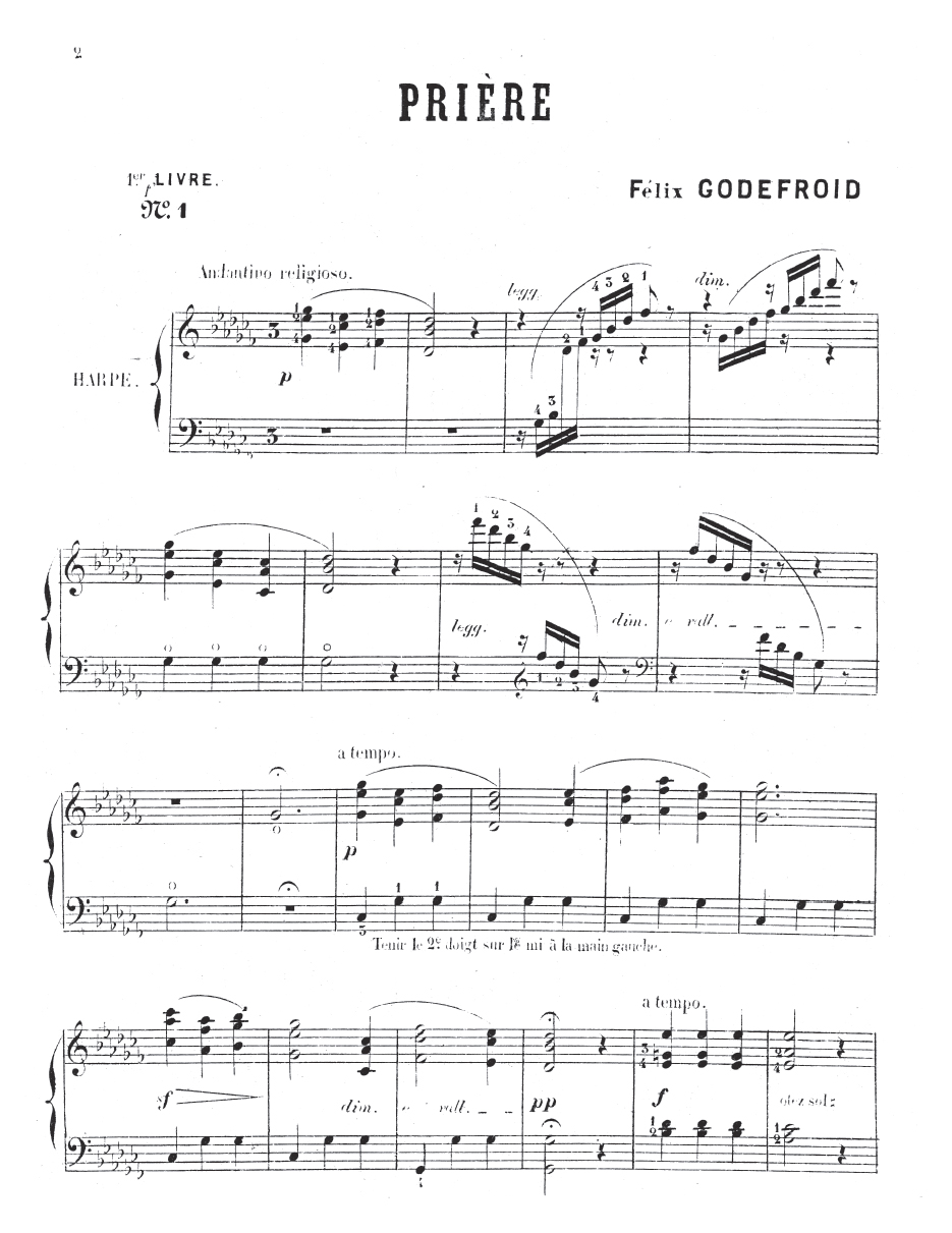 Godefroid Penseesmusicales I - sample