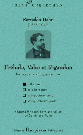 Hahn- Prelude Valse et Regaudon-full-score