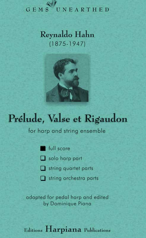 Hahn- Prelude Valse et Regaudon-full-score