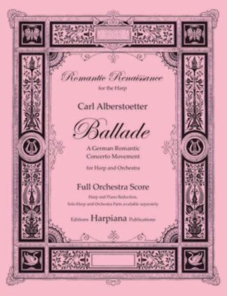 Alberstoetter- Ballade, conductor score