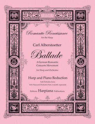 Alberstoetter- Ballade, harp-piano