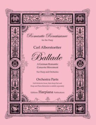 Alberstoetter- Ballade, orchestra parts
