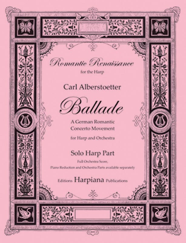 Alberstoetter- Ballade, solo harp