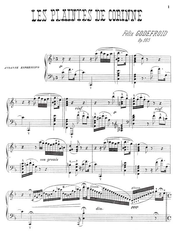 Godefroid- Les Plaintes de Corinne-sample