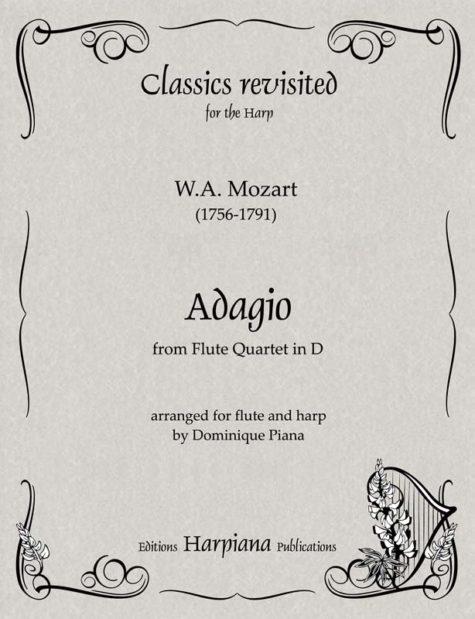 Mozart- Adagio from Flute Quartet in D