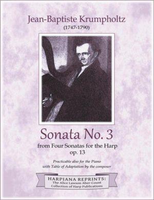 Krumpholtz Sonata 3 c