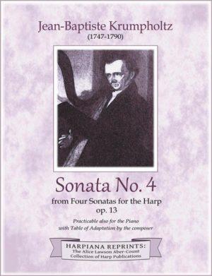 Krumpholtz Sonata 4 cover